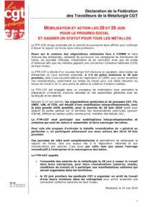 thumbnail of 2018 – DECLARATION DE LA FTM CGT