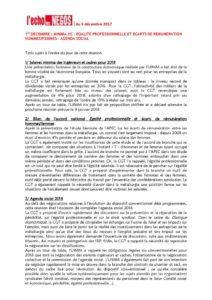 thumbnail of Echo des négos du 1er décembre 2017